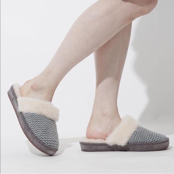 670968872d0 UGG Women's Aira Knit Slip on Slippers
